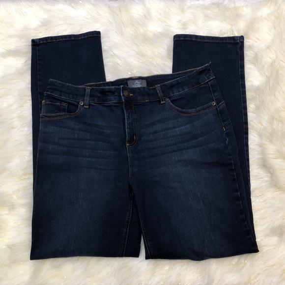Chico's Denim - Chico's So Lifting Dark Blue Jeans 2 (16)